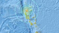 Magnitude-6.9 Earthquake Hits Off