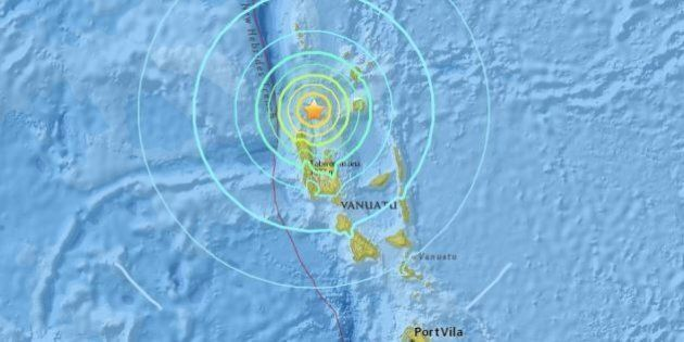 Just Over A Year After Cyclone Pam, Magnitude-6.9 Earthquake Hits Off