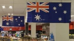 Australia D'Oh: Another Supermarket Stuffs Up Their Flag