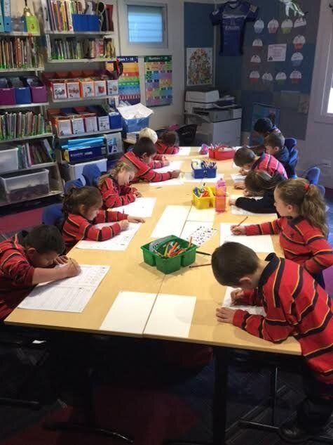 Students at the Darkinjung Barker Campus hard at work!