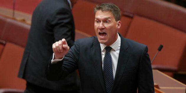 Senator Cory Bernardi speaks in reply to Senator Sam Dastyari's statement to the Senate