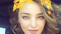 Miranda Kerr Flashes Engagement Ring On Snapchat, Because What