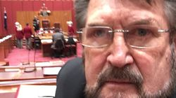 Derryn Hinch 'Commits' Selfie In The