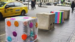 Melbourne's Anti-Terror Bollards Have Been Given A Colourful