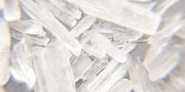 Methamphetamine also known as crystal