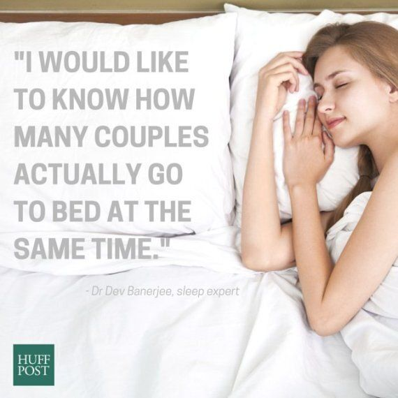 Partners And Sleep: When Your Patterns Just Don't Match