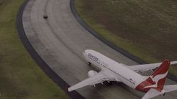 This Car Racing A Boeing 737 Is Pretty Damn