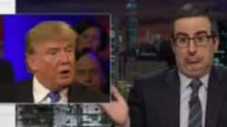 John Oliver Goes Nuclear On Donald Trump's Birdbrained Nuke