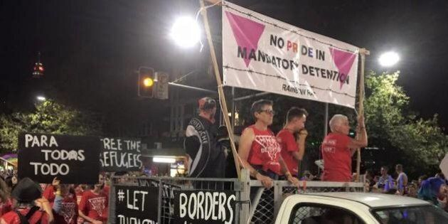Pro-Refugee Mardi Gras Float Told Not To Boo Bill Shorten, Moved Away From Labor