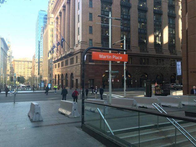 The City of Sydney followed Melbourne's lead, installing temporary anti-terror barricades last Friday