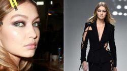 Gigi Hadid Leads Star-Studded Line Up On Versace