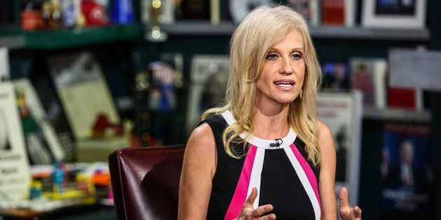 Kellyanne Conwayinterviews on 'With All Due Respect' inJuly 2016.
