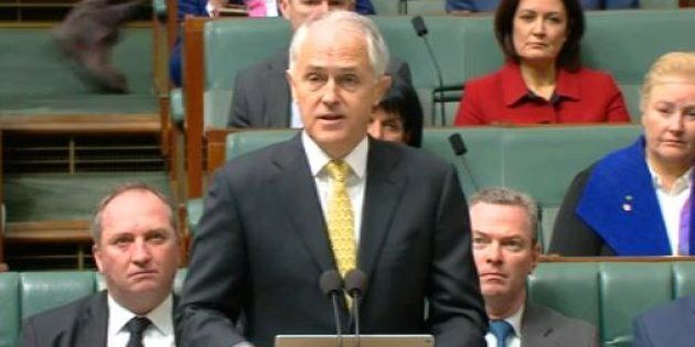 PM Malcolm Turnbull announces the expansion of attacks against