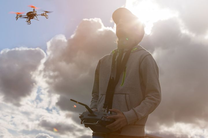 If you want to train as a drone pilot, it costs less than $3000 and a five day course.
