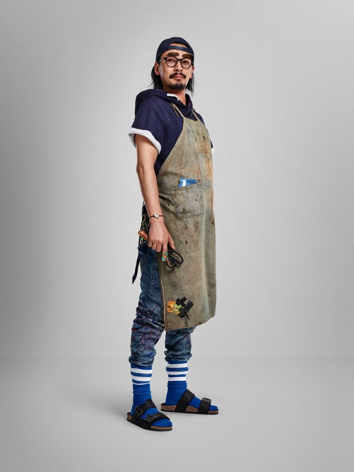 Shunju Ohashi is a denim designer for G-Star.