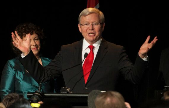 Kevin Rudd's United Nations Secretary-General Ambitions Soured By Helen