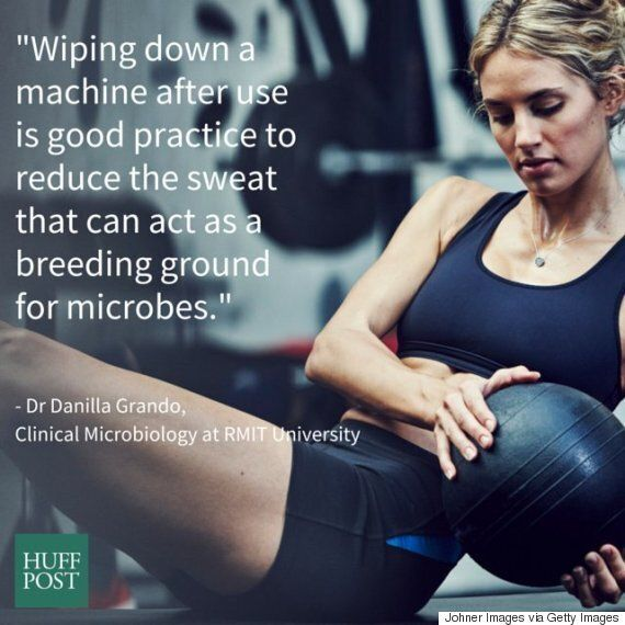 Sweat At The Gym: Why You Should Be Wiping Down Your