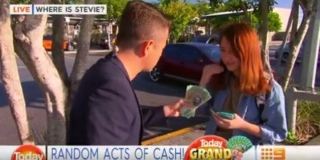Woman Rejects $1000 Cash On The Today
