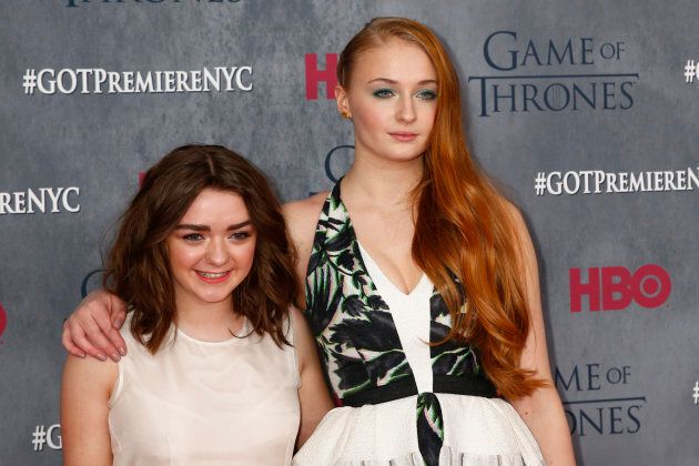 Sophie Turner was 15 when Game of Thrones first