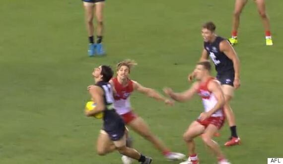 Blaine Boekhorst Dive: Footy Fans Not Impressed At AFL PLayers Behaving Like Soccer