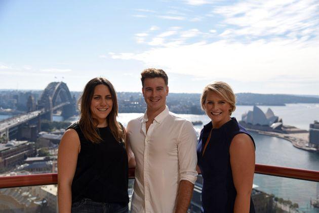 ALL I SEA co-founders Keri Kitay, Scott Henderson and Leisel