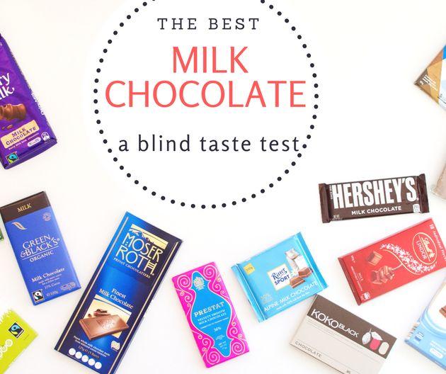 We Blind Taste Tested 13 Milk Chocolate Brands Huffpost