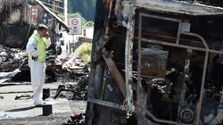 Tour Bus Bursts Into Flames After Crash In Germany, Killing At Least