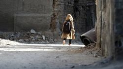 Children In Besieged Syrian Suburb Forced Out Of School And Into