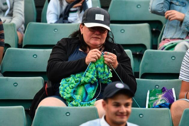 This woman kitted her way through Victoria Azarenka's match. There's never been a better time to get...