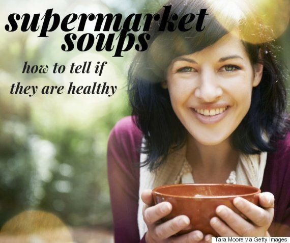 Supermarket Soups Can Contain Nearly Your Whole Recommended Daily Intake Of