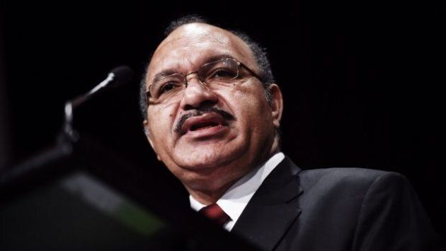 Papua New Guinea Prime Minister Peter O'Neill is facing his second election as