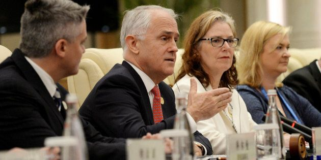 The PM has addressed a business event on the sidelines of the G20 in