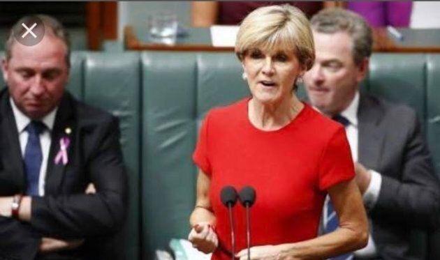 Foreign Minister Julie