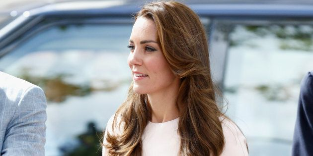 TRURO, UNITED KINGDOM - SEPTEMBER 01: (EMBARGOED FOR PUBLICATION IN UK NEWSPAPERS UNTIL 48 HOURS AFTER CREATE DATE AND TIME) Catherine, Duchess of Cambridge visits Truro Cathedral on September 1, 2016 in Truro, England. (Photo by Max Mumby/Indigo/Getty Images)