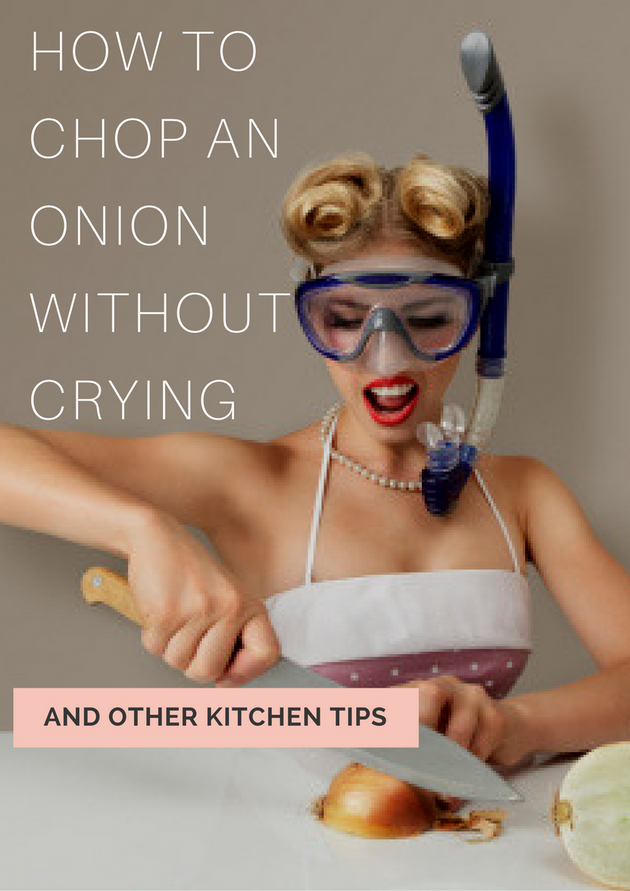 How To Chop Onions Without Crying, According To Justine