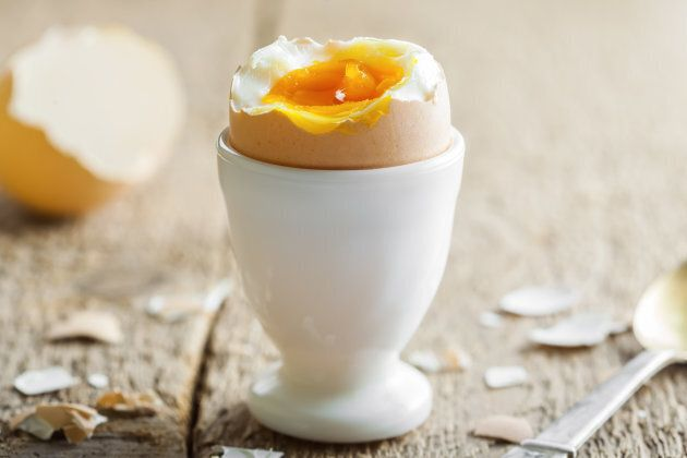 For a perfect gooey centre, try the five minute egg.