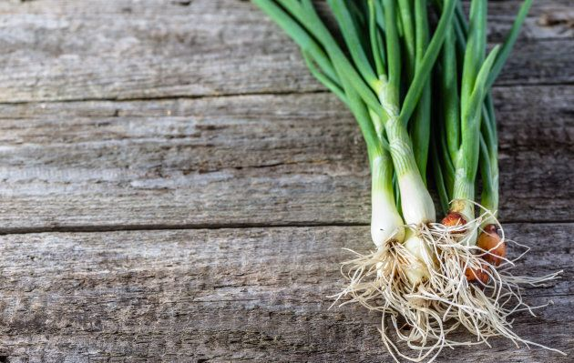 There's no need to throw a single bit of your spring onions away.