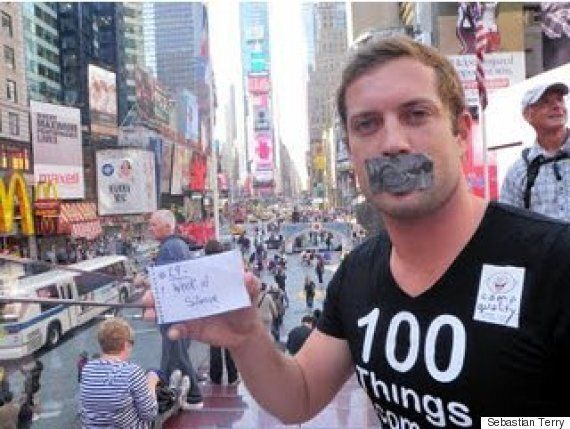 Motivational Speaker Sebastian Terry Spreads His '100 Things' Message to