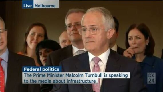 Malcolm Turnbull Just Did The Biggest Press Conference