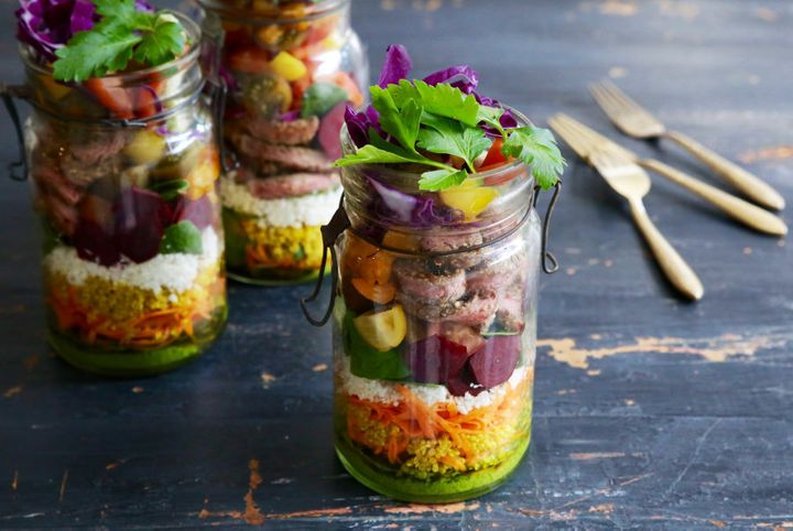 This easy lunch takes the boring out of salads.