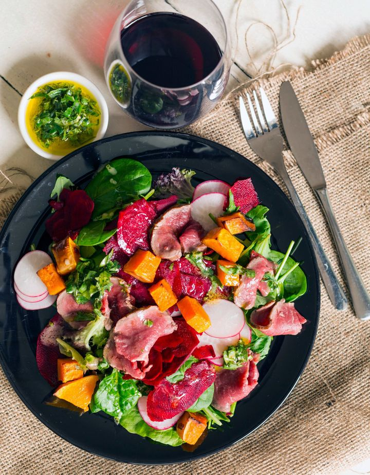 Colourful, easy, fresh and tasty.