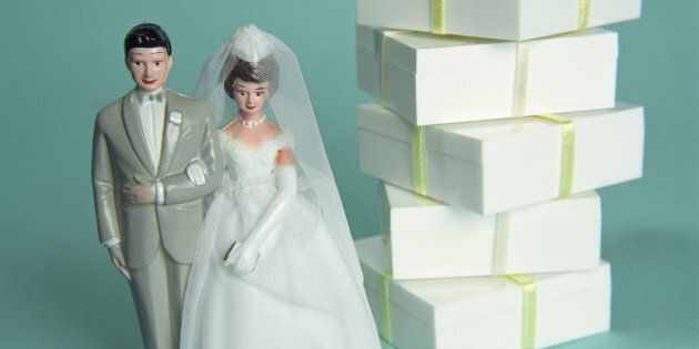 Your wedding is not a chance to grab the most expensive presents
