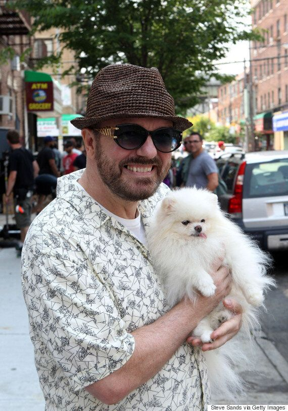 Ricky Gervais Calls For People To Abandon Breeders And Adopt Rescued Animals When Getting A New
