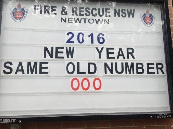 Newtown Fire Station's Billboard Has A Special Message For International Women's