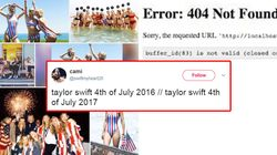 America Mourns The Death Of A National Holiday As Taylor Swift Cancels 4th Of