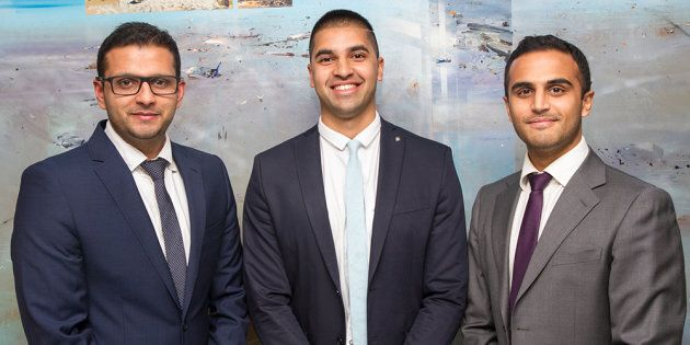 Sydney doctors Raghav Murali-Ganesh, Nikhil Pooviah and Rahul Gokarn developed the CancerAid