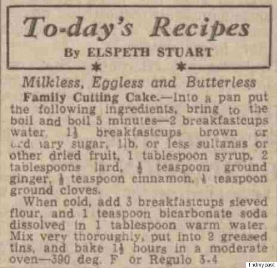 World War 2 Recipes: Brain Souffle and Fairy