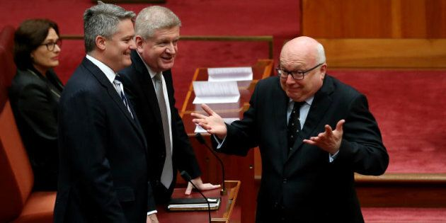 Attorney-General George Brandis will have to reconsider the FOI request for his diaries, or go to the High Court