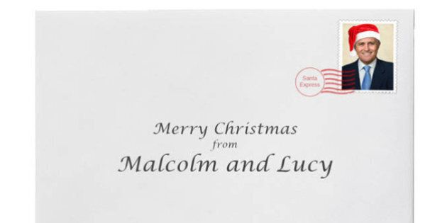 Malcolm Turnbull Has Released His Christmas Card And It's Very