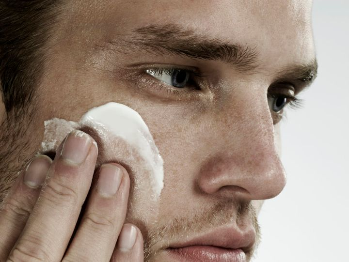 Relax. You don't need to take your skincare regime as seriously as this guy.